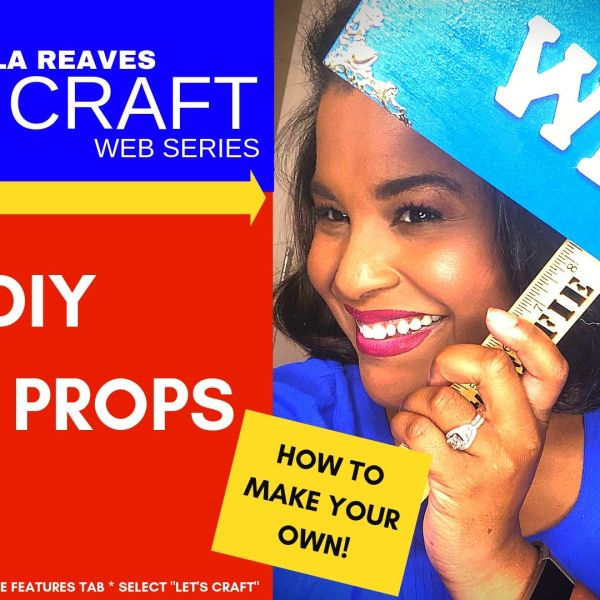 Let's Craft - DIY Selfie Props