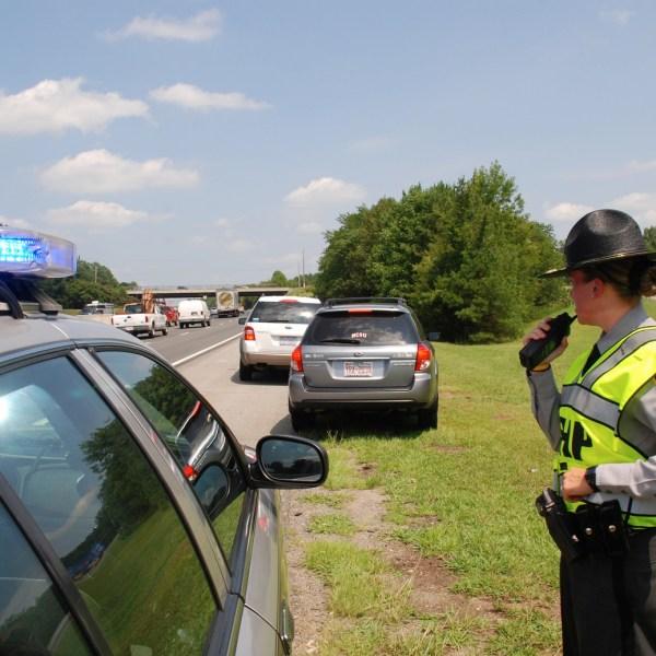 NC State Patrol Traffic Stop