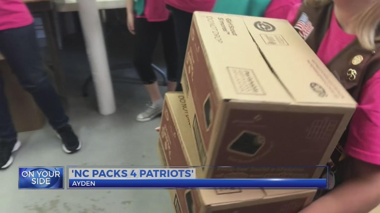 'NC Packs 4 Patriots'