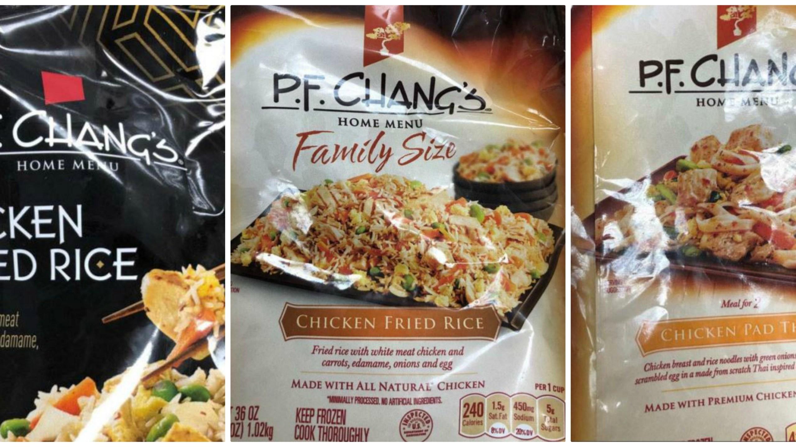 PF Chang's Recalled Frozen Meals