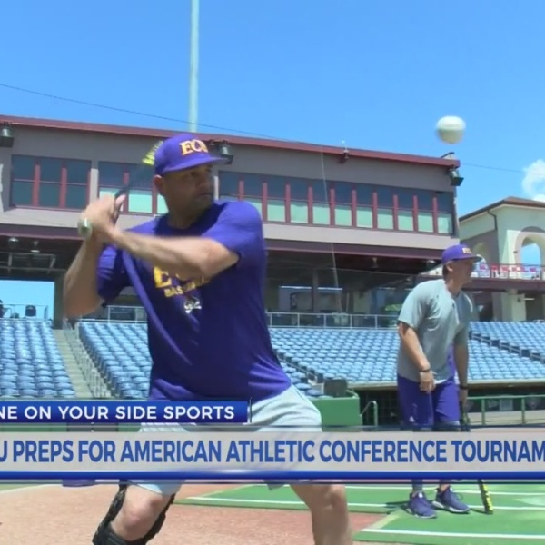 Pirates Prepare For AAC Baseball Tournament Opener