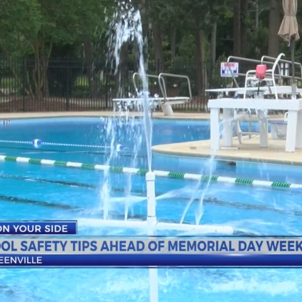 Pool safety tips ahead of Memorial Day weekend