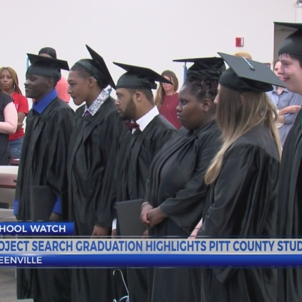 Project SEARCH graduation highlights Pitt County students