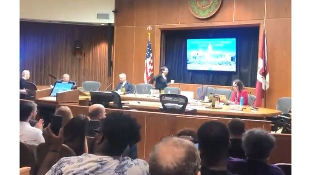 Raleigh Council Leaves Meeting