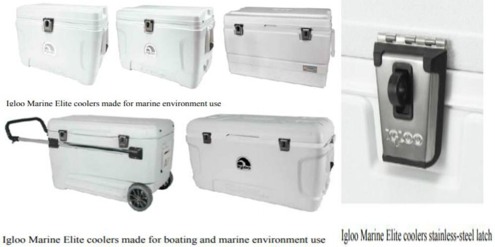 May 2019 Igloo Coolers Recall