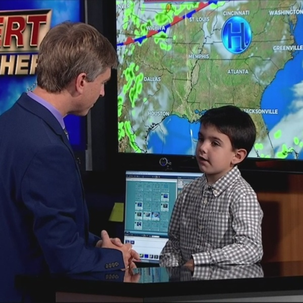 WNCT9 First Alert Weather Kids: Caleb Johnson