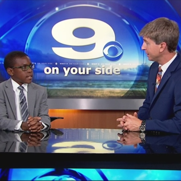 WNCT9 First Alert Weather Kids: LeMarc Rouse
