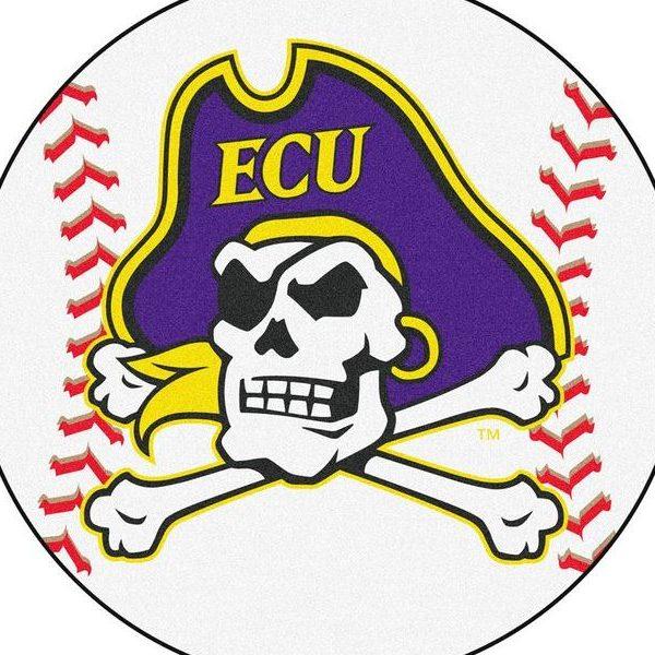 ECU Baseball Logo 2019