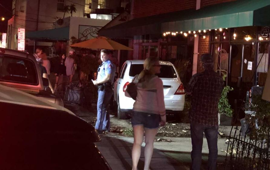 Car Crashed Into Pizza Restaurant Raleigh