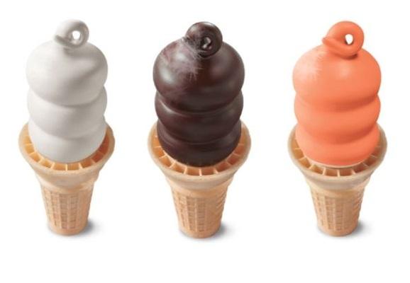 Dairy Queen Ice Cream Cone Flavors