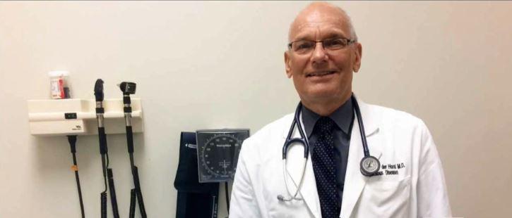 Dr. Charles van der Horst UNC