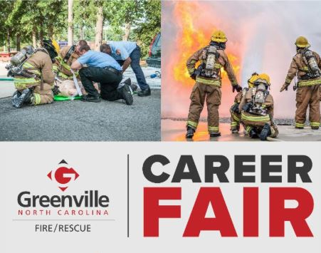 Greenville Fire Rescue Career Fair