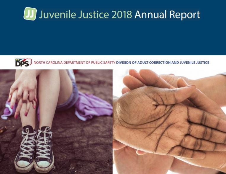N.C. Juvenile Justice 2018 Annual Report