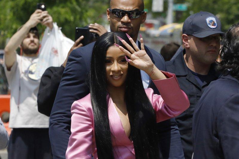 Rapper Cardi B - May 31, 2019