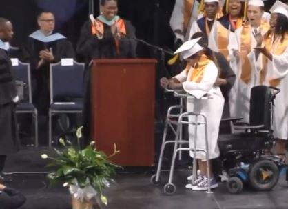VA Teen Graduates After Coma