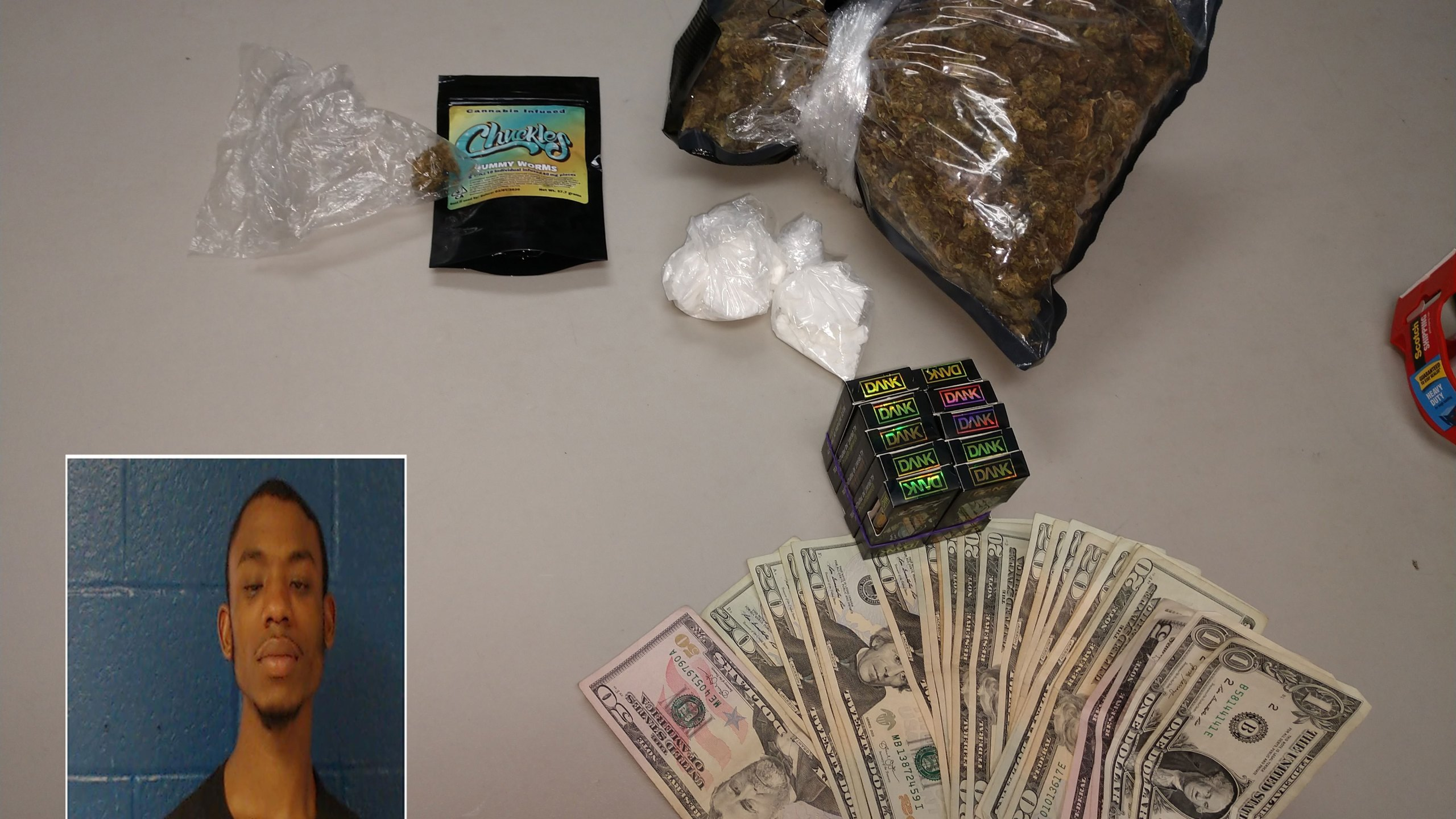Traffic stop on U S  264 leads to drug charges against