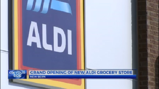 Grand opening of new Aldi grocery store in New Bern | WNCT