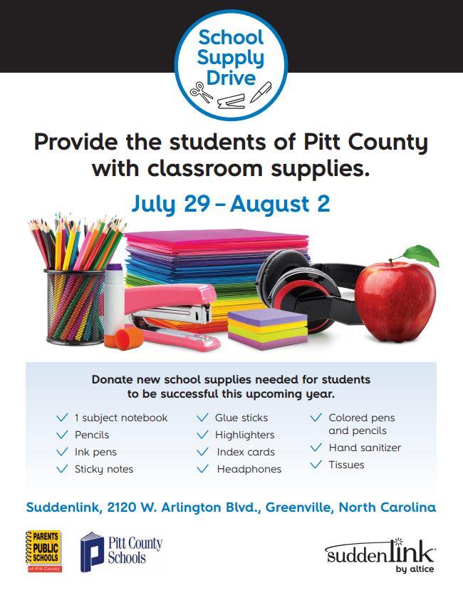 Online Originals: School supply drive at Suddenlink in