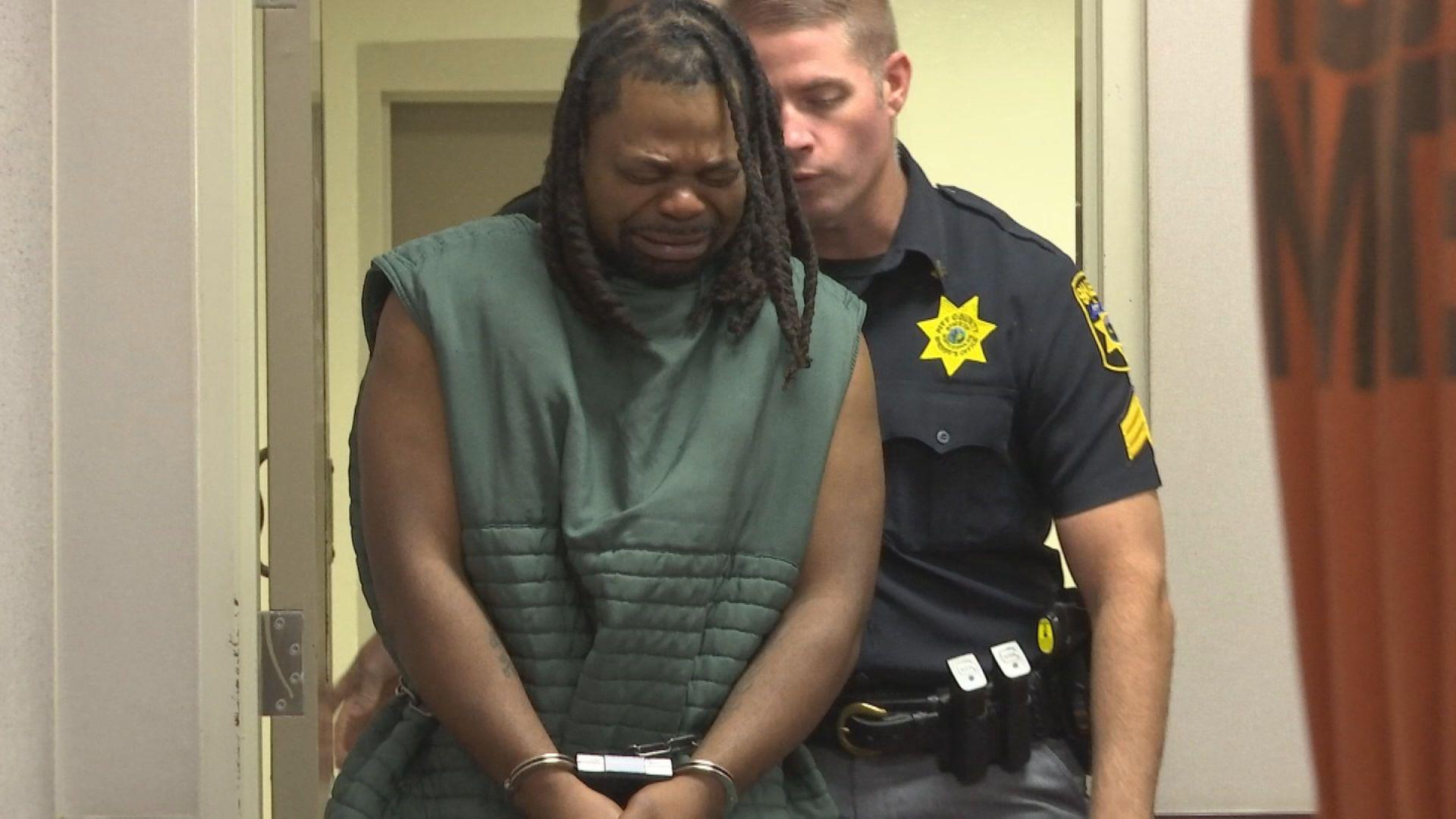Marcus Mackey in Court