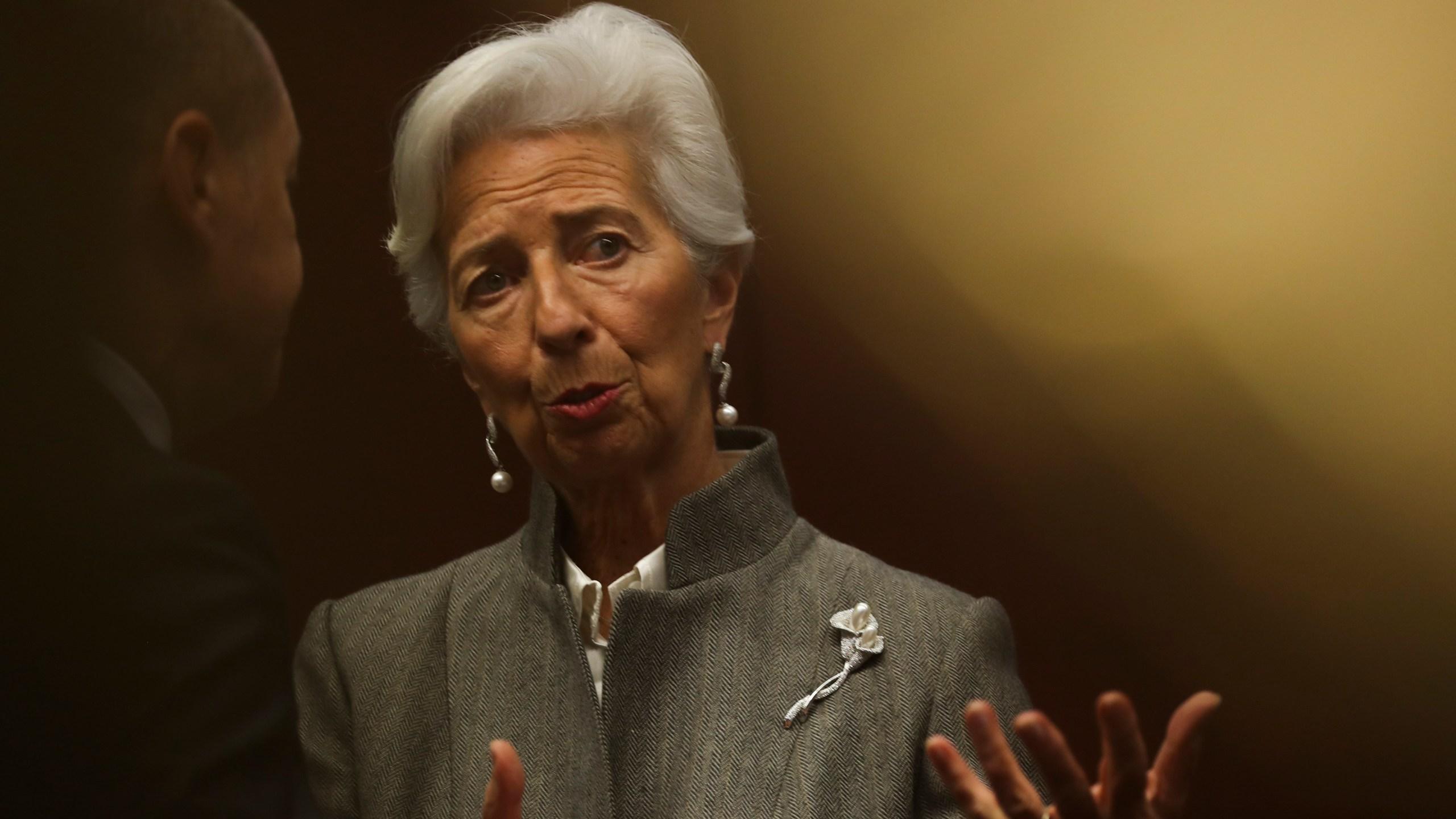 Christine Lagarde, Olaf Scholz