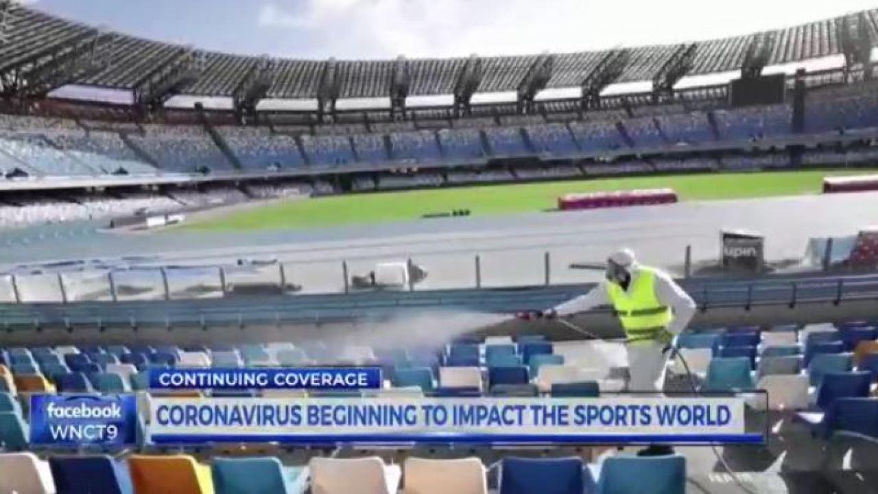Coronavirus impacting sports world | WNCT