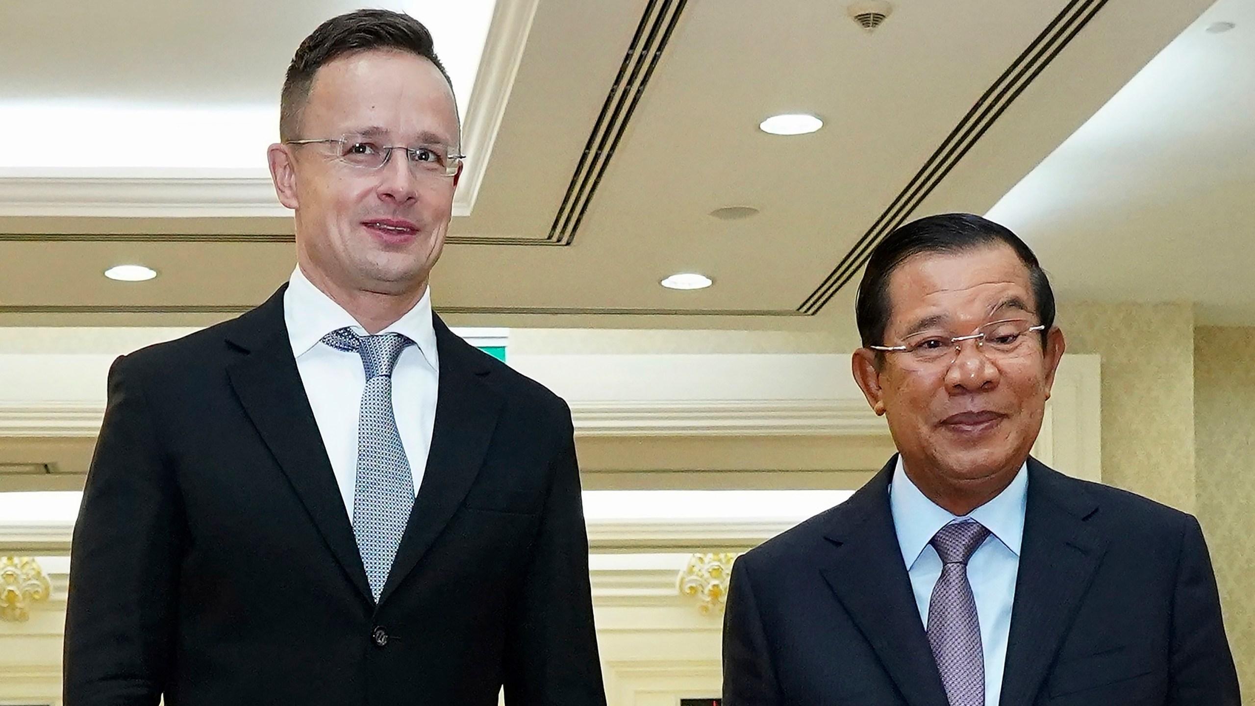 Hun Sen, Peter Szijjarto