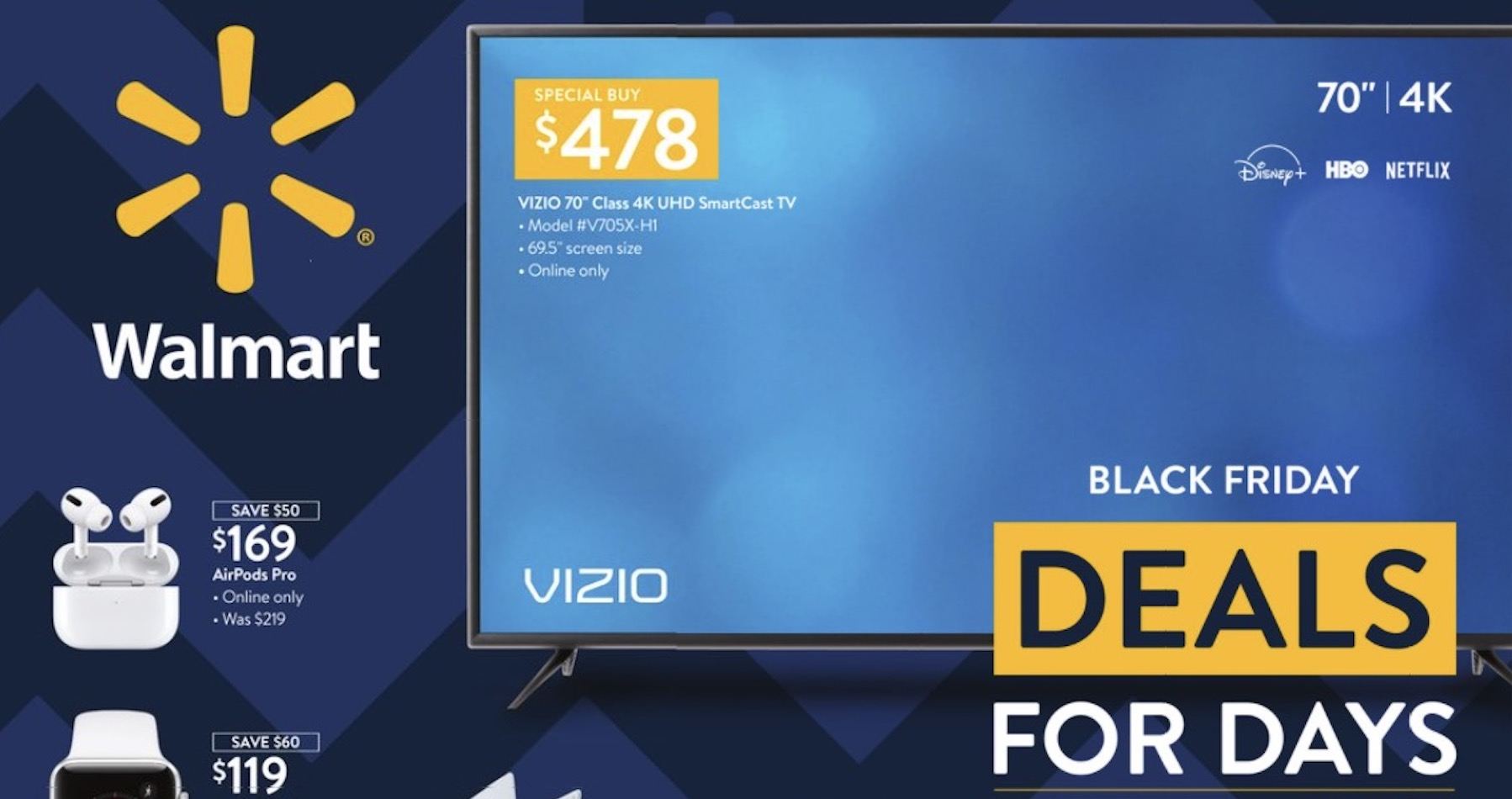 Walmart Black Friday Here Are The Best Deals You Can Find Right Now Online Wnct