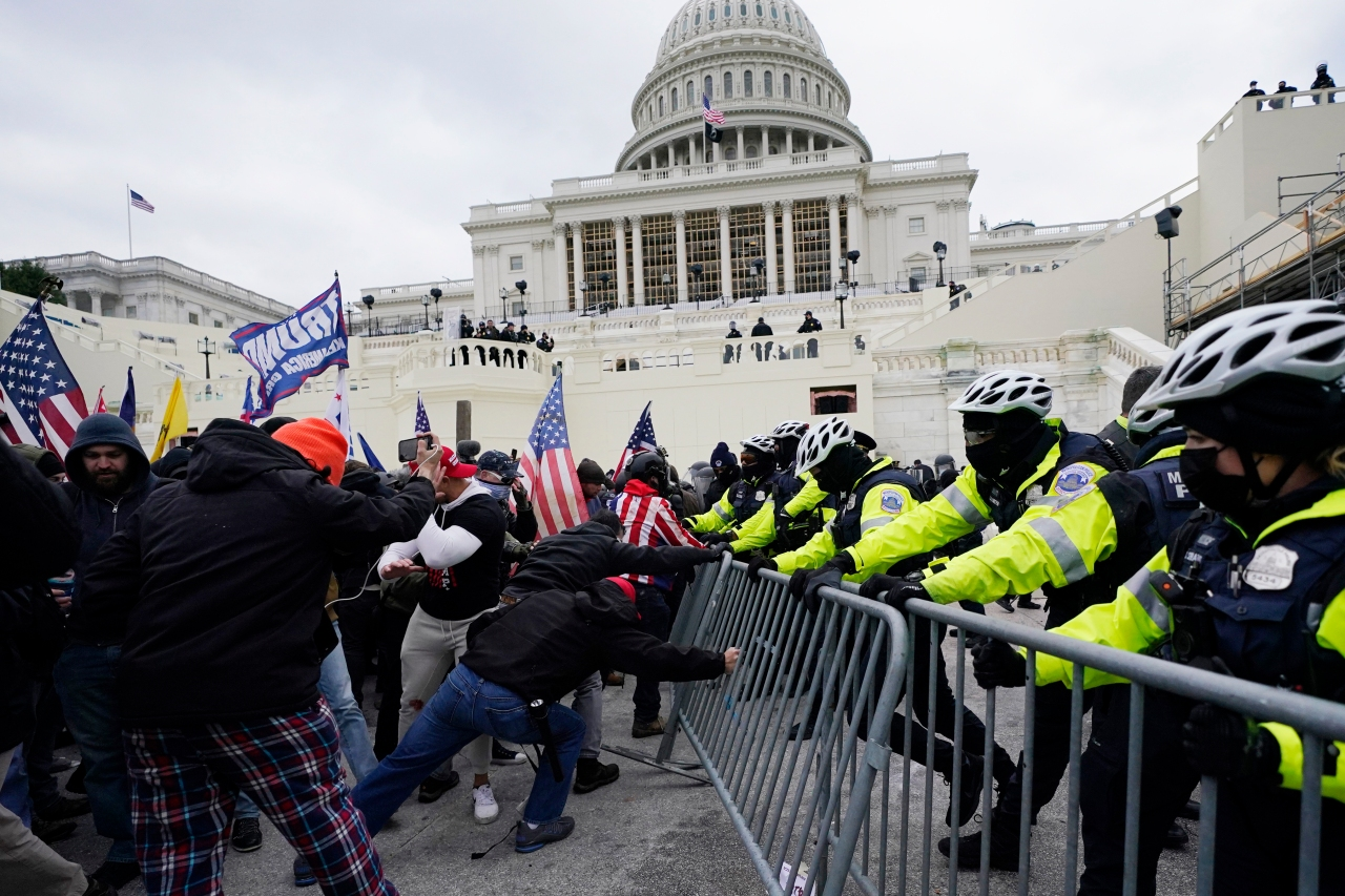 Garner man charged in US Capitol insurrection
