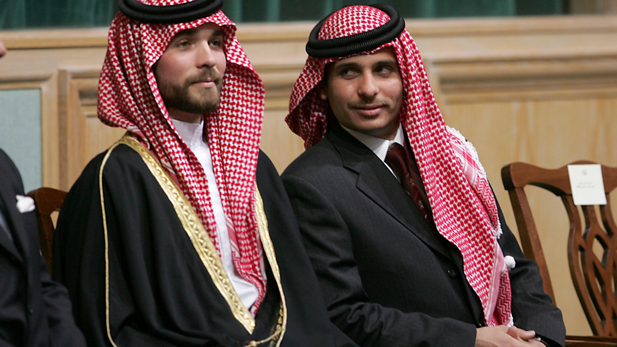 Prince Hamza Bin Al-Hussein, Prince Hashem Bin Al-Hussein,