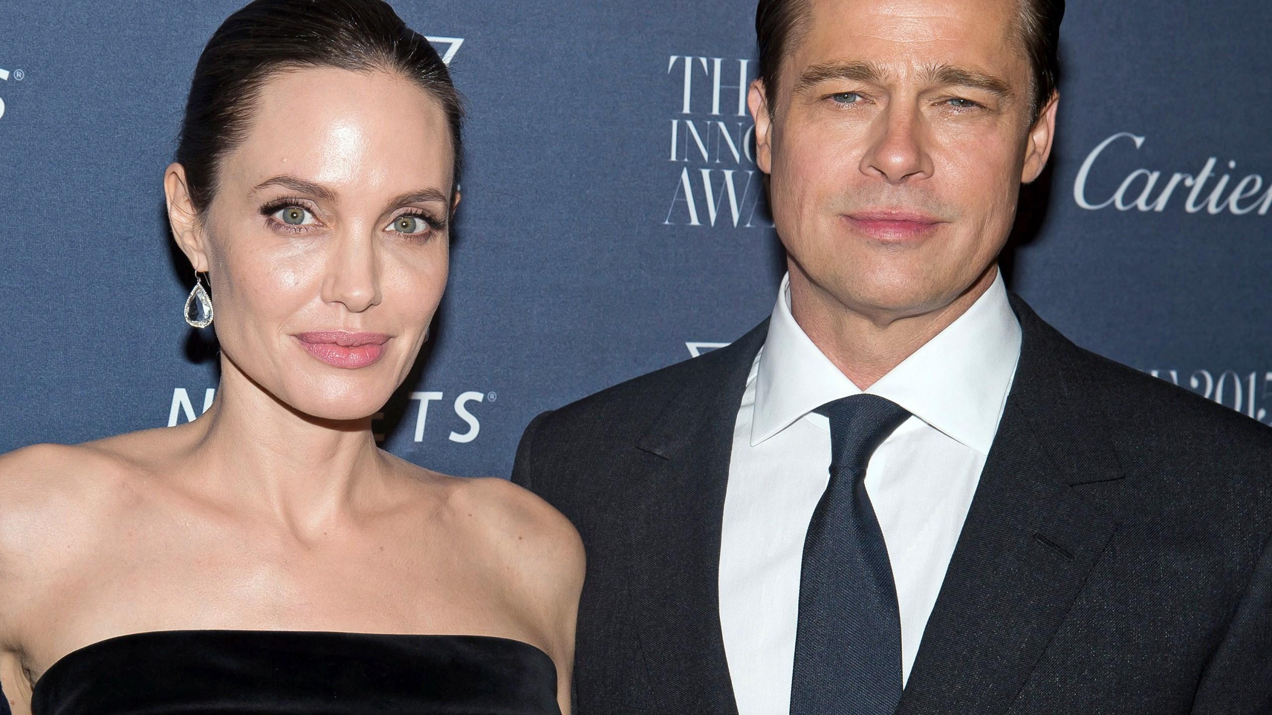 Angelina Jolie Pitt, Brad Pitt