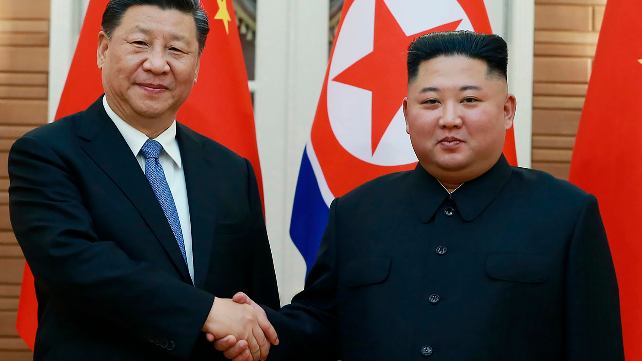 Kim Jong Un, Xi Jinping