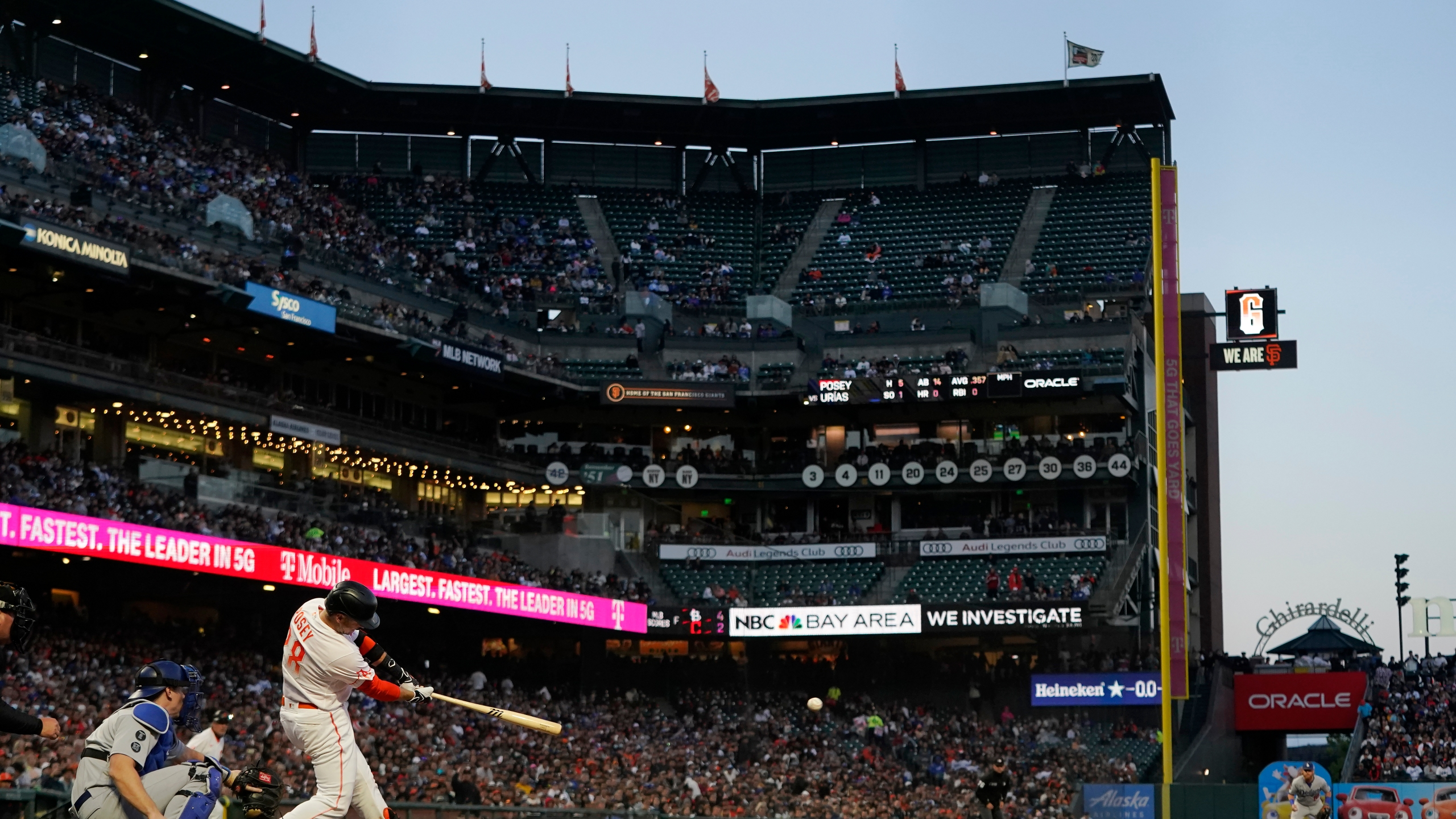 Buster Posey, Will Smith