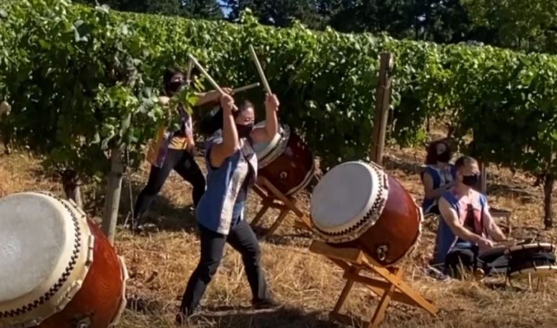 www.wnct.com: Booming beats of taiko embrace Japanese tradition