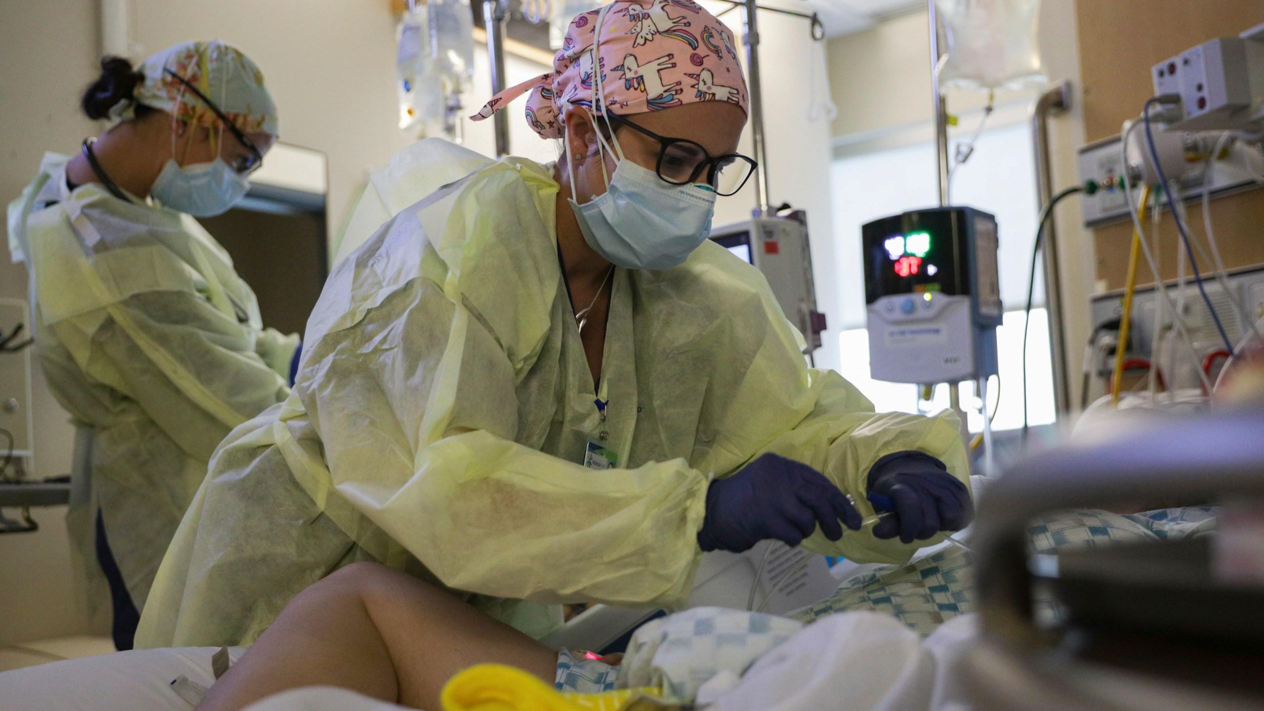 U.S. Army Medical Team Decompresses Idaho Hospital
